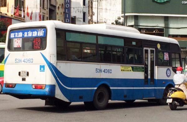 New public bus service between airport and downtown in Ho Chi Minh City